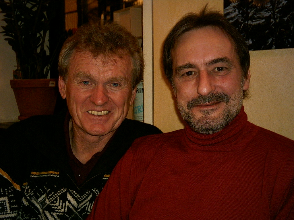 Sepp Maier und Dietmar Eirich